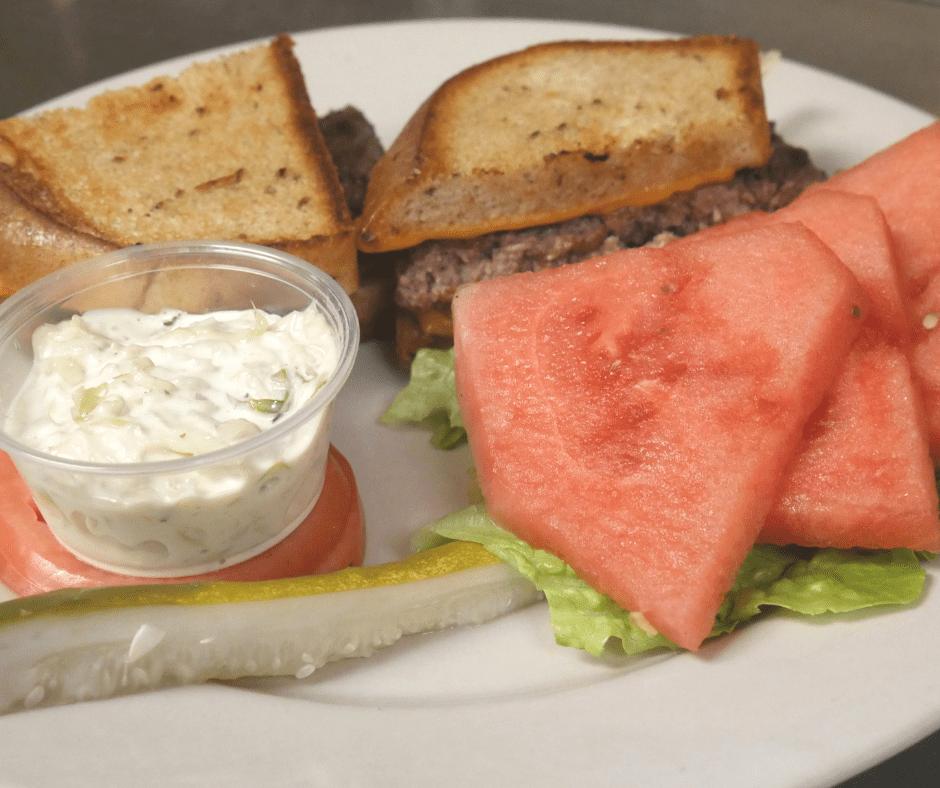 Sandwich with Watermelon